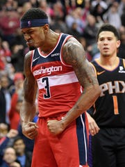 The Wizards might consider trading guard Bradley Beal.
