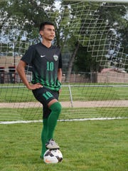 After scoring 32 goals in 2016, Farmington's Yosmar Ruiz aims to score 36 to 38 goals in 2017.