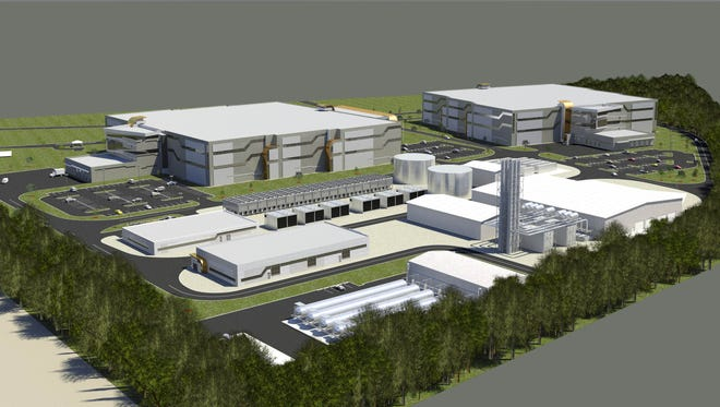 Wolf Technology Center rendering