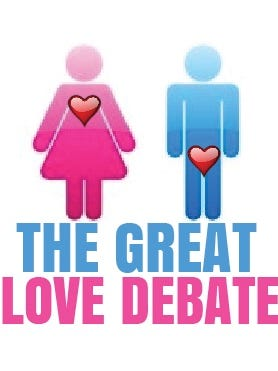 """""""The Great Love Debate"""" — on a 26-city tour that includes hot spot locales like New York City, San Diego, Boston and Chicago — is coming to Indy in May."""