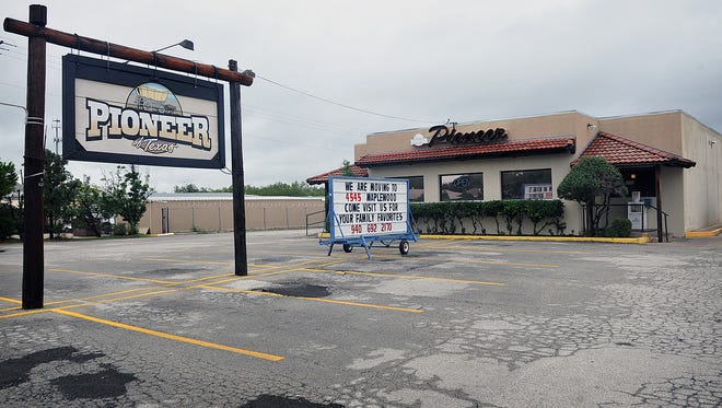 The Pioneer Restaurant on Southwest Parkway, also known as Marty's Pioneer, has closed, with operations being relocated to the Pioneer Restaurant on Maplewood Avenue.
