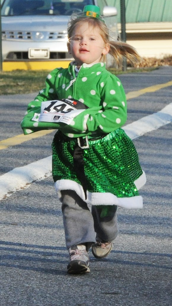 The 10th annual Asheville Catholic School Shamrock Run includes a fun run, 5K and 10K race on March 12.