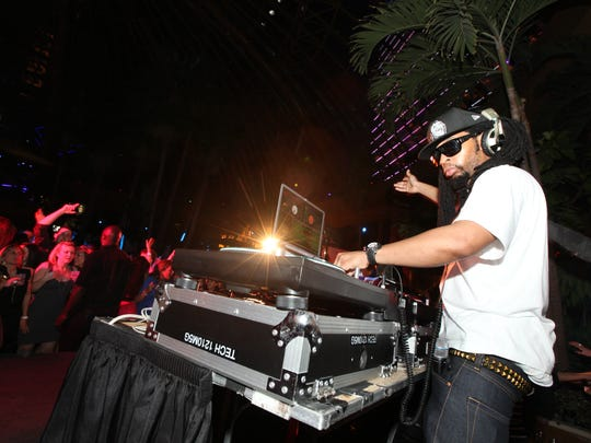 Lil Jon, pictured in Atlantic City in 2010, will be
