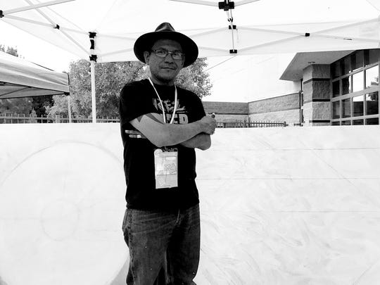 Bahe Whitethorne Jr. attended a Native American business incubator event in June 2017. The Navajo artist died in March 2018. He was 41.