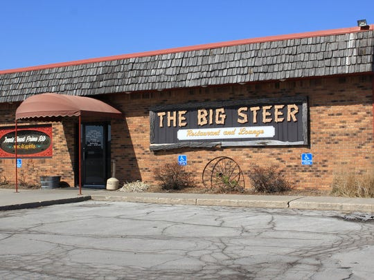 The Big Steer Restaurant & Lounge was named one of the best steakhouses in America by MSN.