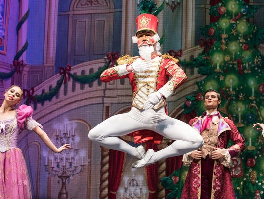 "A scene from ""The Great Russian Nutcracker,"" which will be on stage Friday at the Barbara B. Mann Performing Arts Hall in Fort Myers."