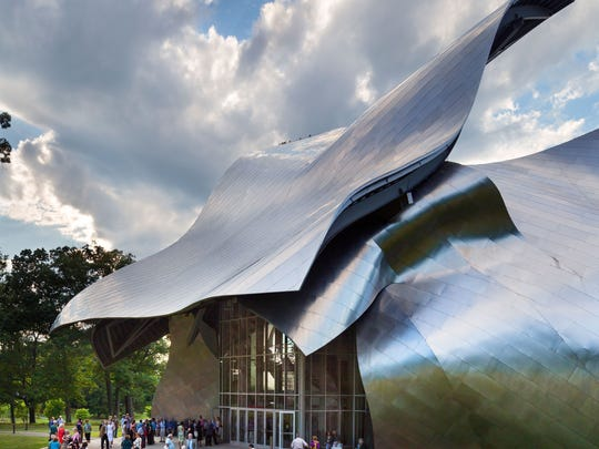 The Richard B. Fisher Center for the Performing Arts at Bard College hosts events for the Bard Music Festival.