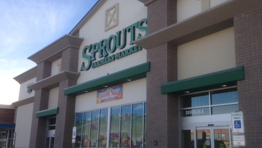 The second El Paso Sprouts Farmers Market store opened in February at 2036 N. Zaragoza on the East Side. Opening week drew big crowds.