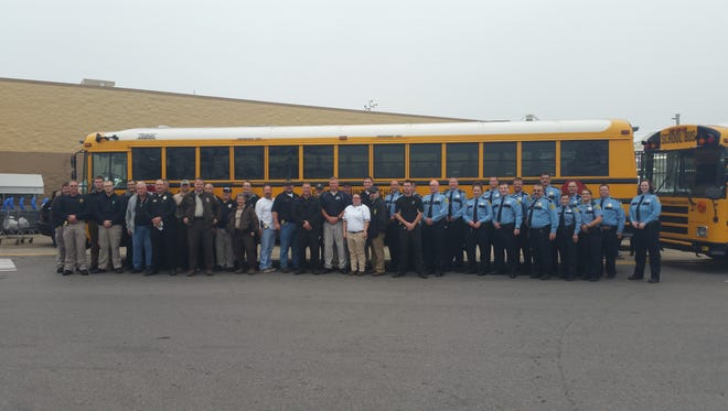 More than 50 law enforcement officers participated in annual Shop with a Cop event in Clarksville.