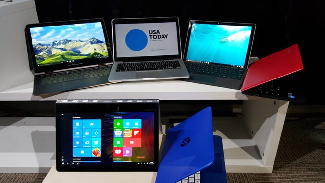 There are many laptop available this holiday season in a variety of styles, prices and colors.