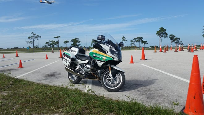 Charlotte Sheriff's Office gets two BMW, Model R1200 RTP motorcycles.