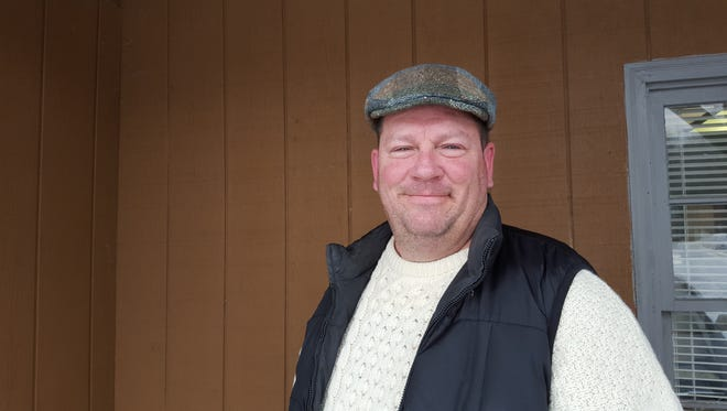 David Prokop poses for a photo on Feb. 8, 2016 outside the Sunrise Broadcasting studios in Wausau.