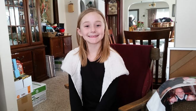 Kacie Jorgensen, a third-grade student at Luxemburg-Casco Intermediate School, asked guests for her birthday party to forego giving her gifts and instead donate items to two local charities.