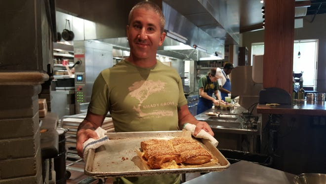 """A scene from the documentary """"In Search of Israeli Cuisine."""""""