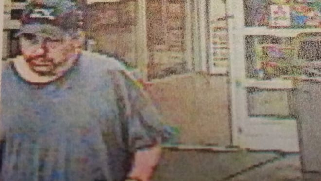 This is the man who police say robbed the Wal-Mart in Springettsbury Township on Monday morning.