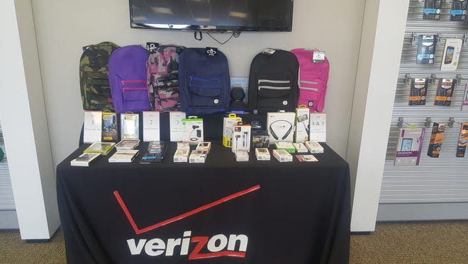 Local Verizon retailers will be giving away backpacks on Saturday, July 30, 2016.