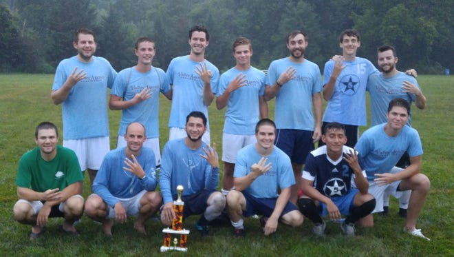 Valley Agency won the Chambersburg Summer Soccer League championship game by defeating Geneva, 4-3.