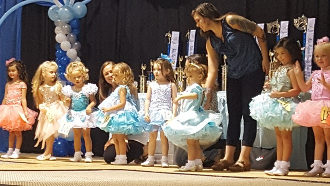 These darling little girls competed in this year's 22nd annual Miss Augusta County Fair pageant.