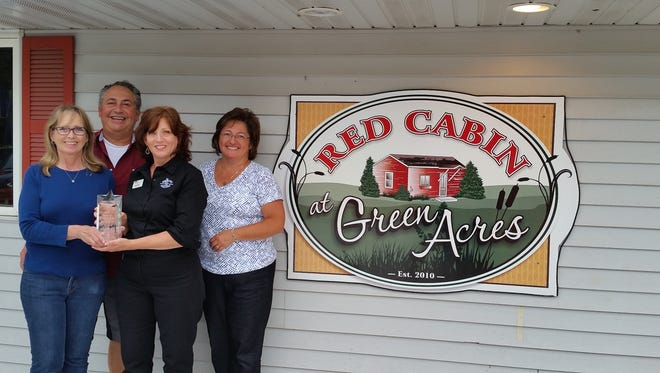 Red Cabin at Green Acres won People's Choice at Taste of Fond du Lac 2016, as well as first place in the soup and dinner entree categories.