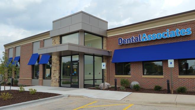 The renovated Dental Associates building off Duck Creek Parkway, in Howard.