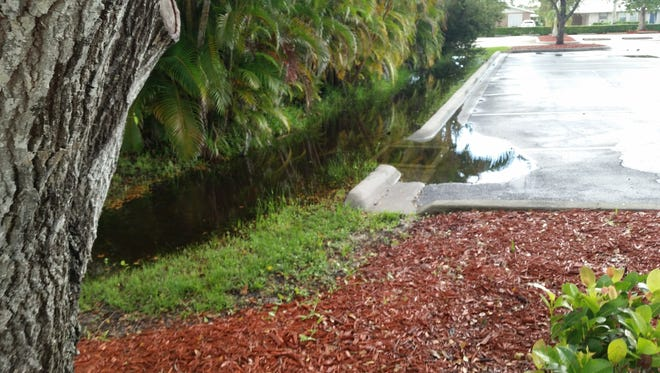 A drainage ditch between the Capri Christian Church parking lot and a residence owned by Paul and Yvonne Rhoads that holds water for long periods of time also raises concerns. This ditch is the responsibility of the property owners, not the county.