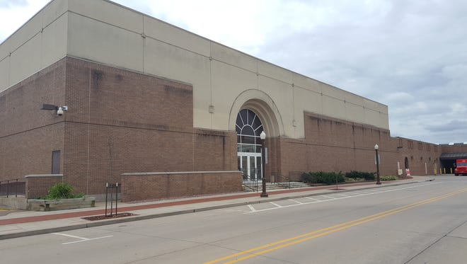 The former Sears building in the Wausau Center mall, shown here on Sept. 21, 2016, is 88,000 square feet and occupies 2.3 acres. The city has plans to buy and redevelop it.