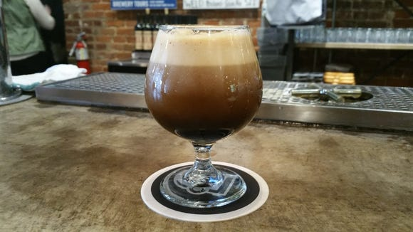 Tin Man's Csar is back. This glass of Csar is on Nitro, which gives this Russian Imperial Stout an even smoother flavor.