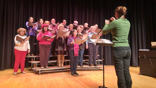 """The Singing Ambassadors of Vineland will perform their Christmas Concert, """"Countdown to Christmas,"""" at 3 and 7 p.m. Dec. 3 in the auditorium at Vineland High School North on Chestnut Avenue in Vineland."""