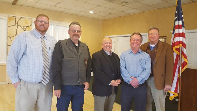 The Federated Republican Women of Lincoln County welcomed guest speakers; District Attorney John Sugg, Sheriff Robert Shepperd, County Assessor Walter Hill, House Representative District 59 Greg Nibert and Senator Bill Burt District 33.