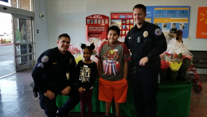 The Mesquite Police Department's annual Shop With a Cop event .