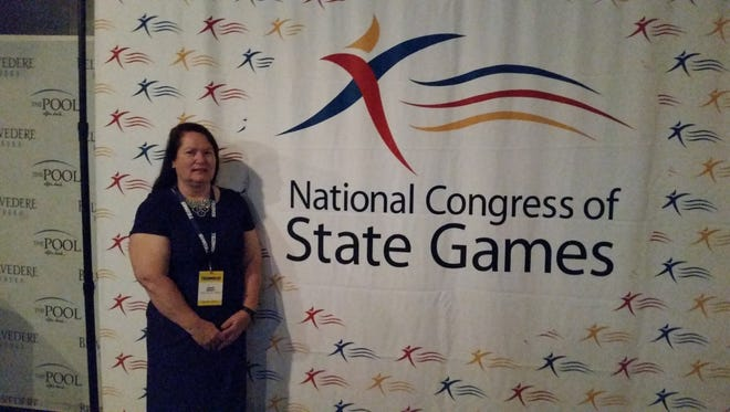 Janet Brady of Canton was named Athlete of the Year in the National Congress of State Games.