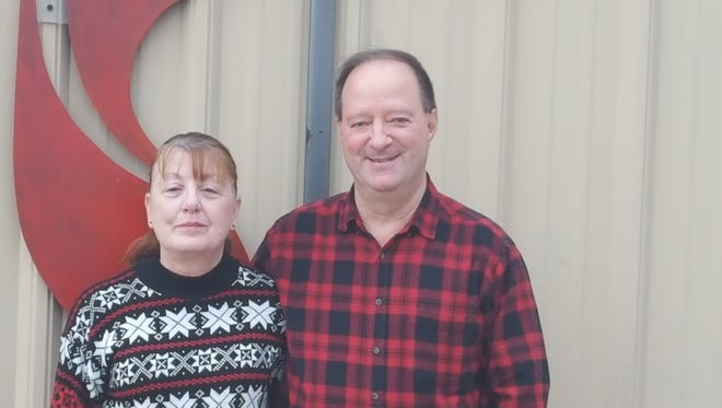 Cathy and Kenneth Brock