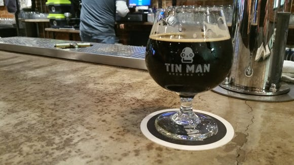 Tin Man's Csar with vanilla, nutmeg and Cassia bark is currently my favorite beer on tap at the Franklin Street tasting room.