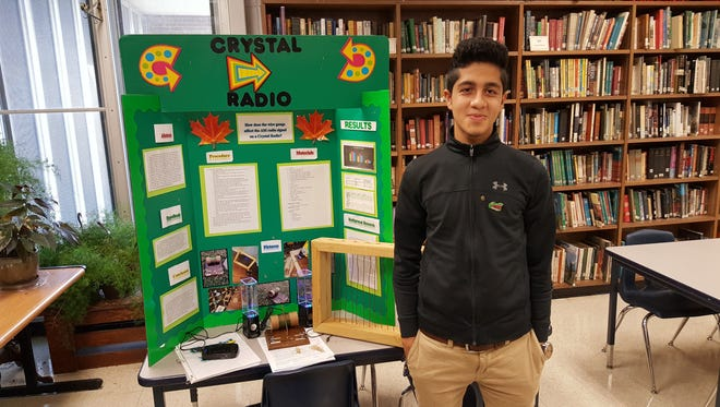 Ibtisaam Swati was named the overall winner for the 2017 St. Landry Parish Science Fair.