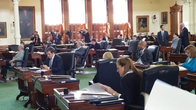Texas senators on Tuesday prepare to debate a controversial sanctuary cities bill.