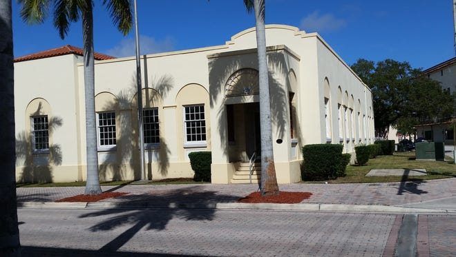 The building at the northwest corner of Orange Avenue and Fifth Street in Fort Pierce is a former post office.