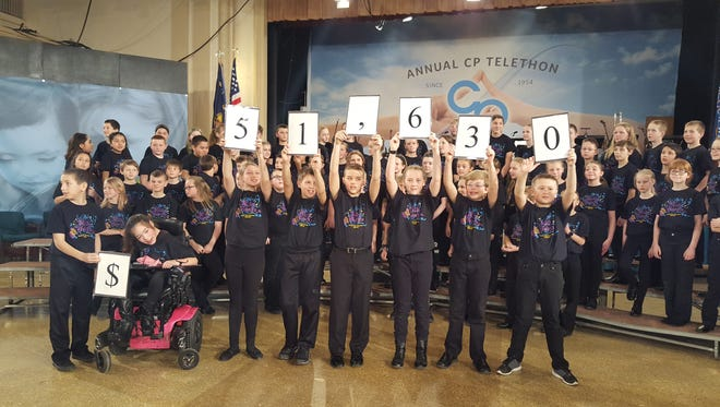 Southern Door Students raised $51,630 for the organization CP.
