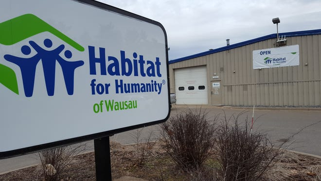 Habitat for Humanity of Wausau has moved to a more visible space at 1810 Schofield Ave. in Weston, shown on March 20, 2017.
