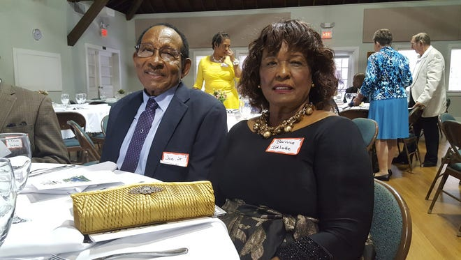 Joe Jr. and wife Bernice are the first African American family to receive the Pioneer Family dinner award.