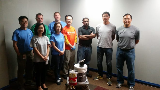 Celanese employees get 'hands-on' when giving back to their community.