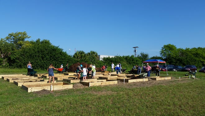 Community garden in Cocoa.