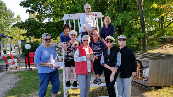 The Baileys Harbor Women's Club had fun at the Red Putter last Thursday while out and about.