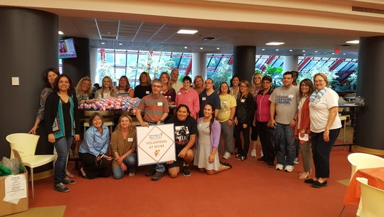 Vounteers participate in 9/11 Day of Service organized