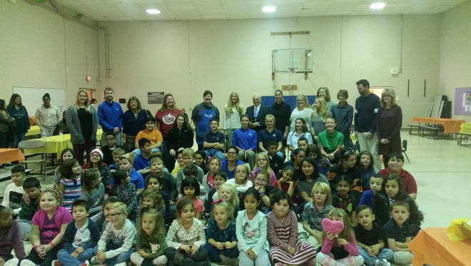 Francisco Ciccio Poblet recently visited students at The Ellison School.