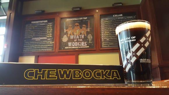 When beer meets 'Star Wars,' Chewbocka is the result