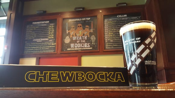 When beer meets 'Star Wars,' Chewbocka is the result