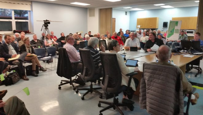 More than 30 people – some favoring the campground and others opposed – remained at the hearing into early Friday morning.