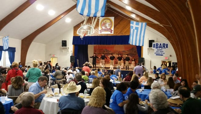 Kick-off New Jersey's Greek festival season at St. George Greek Orthodox Church at 1101 River Road, Piscataway during their 45th Annual Greek Festival taking place May 17 - 20.