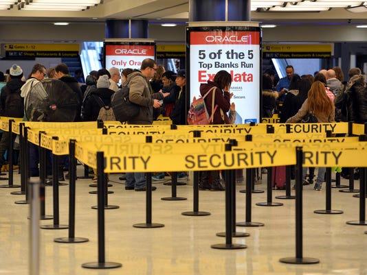 Kennedy International Airport, New York