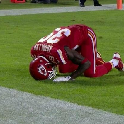 Husain Abdullah was penalized for praying during a game.